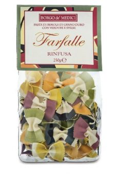 Farfalle Pasta mixed colours