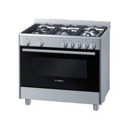 Bosch 90cm Freestanding Gas Electric Cooker - HSB734355Z