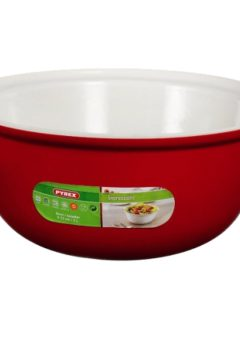Pyrex Salad bowl red