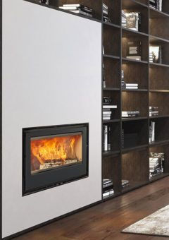 Rocal Woodburning Fireplace ARc80 Graffiti