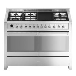 Smeg Cooker Gas Electric Opera Double Cavity Range A4-8