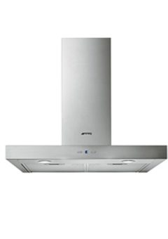 Smeg 60cm Stainless Steel Wall Mounted Extractor Hood - KAT600HX