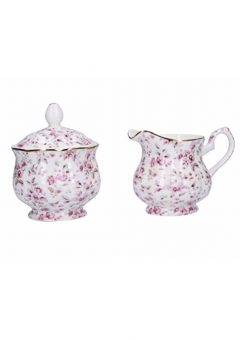 Katie Alice Ditsy Floral sugar bowl and creamer set