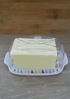 sagaform butter dish