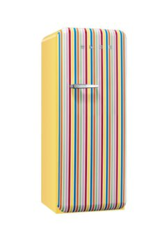 Smeg Retro Stripe Fridge