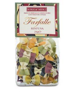 Farfalle Pasta mixed colours