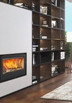 Rocal Woodburning Fireplace ARc 100 graffiti