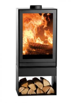 Nestor Martin Rotating Log Storage Fireplace TQH33