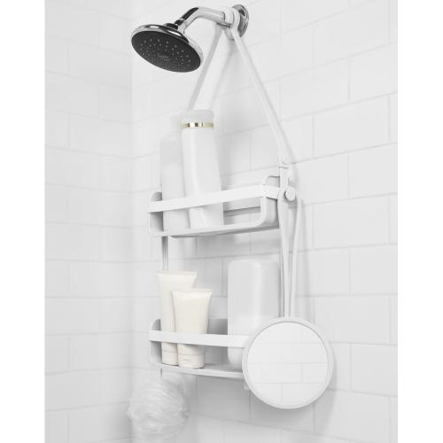 Umbra flex shower mirror metelerkamps for Miroir umbra