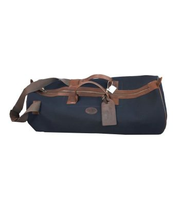 Melvill and moon Black Canvas duffel Bag