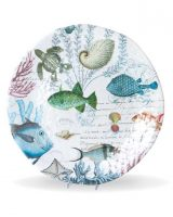 Michel Design Works Sea life Large Round Platter