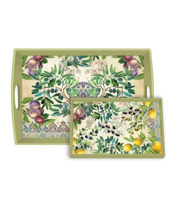 Michel Design Works Tuscan Grove Wooden Tray