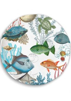 Michel Design Works Sea Life Casual Dinner Plate