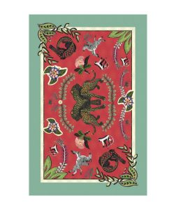 Ardmore Tablecloth royal leopard sunset