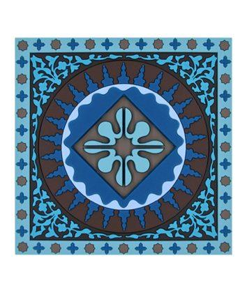 Images d orient Coaster Mosaic Blue