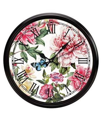Michel Design Peony Wall Clock