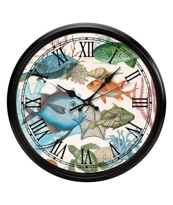 Michel Design Sealife Wall Clock