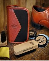 Gentlemens hardware shoe polish kit