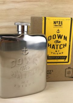Gentlemens hardware trusty hip flask