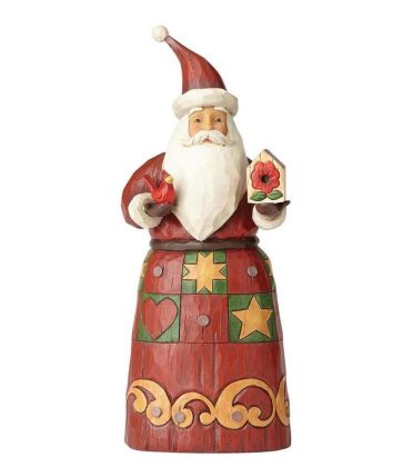 Jim Shore Santa with Birdhouse