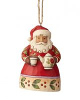 Jim Shore Santa with teapot