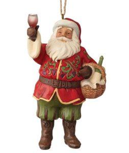 Jim Shore Vineyard Santa