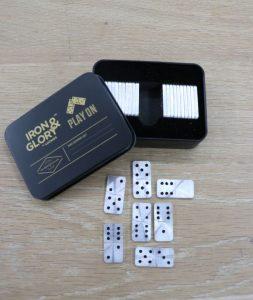 IronandGlory Play on mini Domino set
