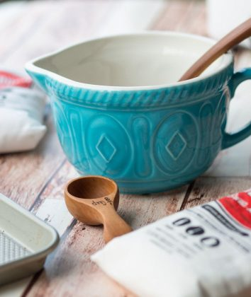 MasonCash Batter Bowl Turquoise