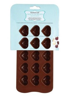 Kitchen Craft Chocolate Hearts Silicone Mould