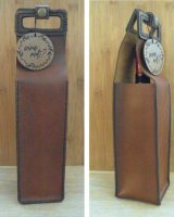 Leather Wine bag