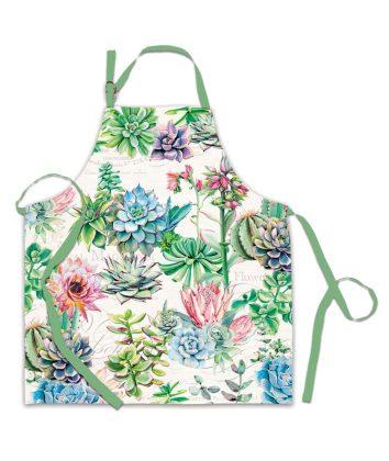 Michel Design Apron Pink Cactus