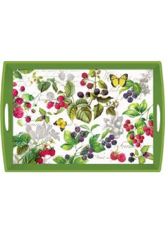 Michel Design Works Berry Patch Wooden Tray