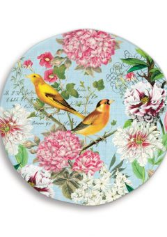 Michel Design Works Garden Melody Large Round Platter