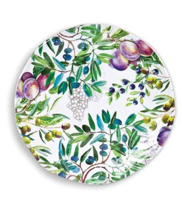 Michel Design Works Tuscan Grove Large Round Platter