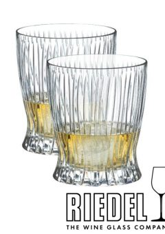 Riedel FIRE whisky glasses