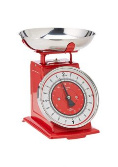 Kuchenprofi kitchen scale red