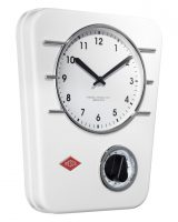 Wesco Kitchen Wall Clock White