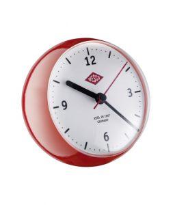 Wesco Mini Clock red