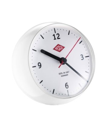 Wesco Mini Clock white