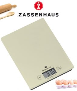 Zassenhaus Digital scale cream