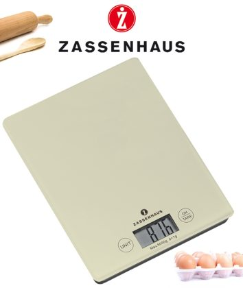 Zassenhaus Digital scale cream