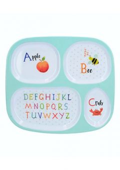 Creative Tops Alphabet sectioned plate