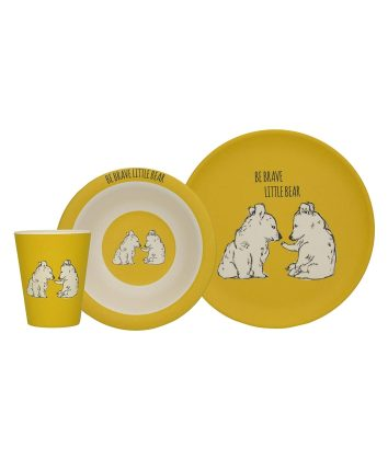 Creative Tops Brave Little Bear Dinnerware Set
