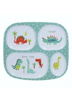 Creative Tops Kids Sectioned plate Hungrysaurus