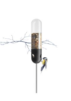 va Solo stand tube bird feeder