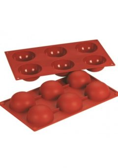 Silicone Mould Sphere 70 x 35