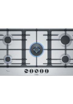 Bosch 5 Burner Gas Hob Stainless Steel PCR9A5B90Z