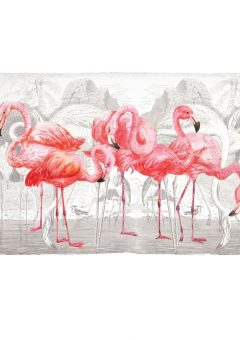 Michel Design Works scatter Pink flamingoes