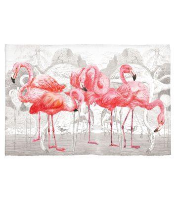 Michel Design Works scatter Pink flamingoes
