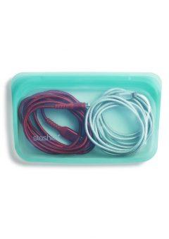 Stasher Snack Bag Bag Aqua